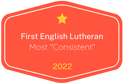 2022 Most 'Consistent' badge for First English Lutheran Child Development Center in Austin