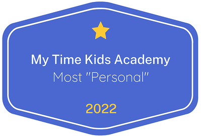 2022 Most 'Personal' badge for My Time Kids Academy in Austin