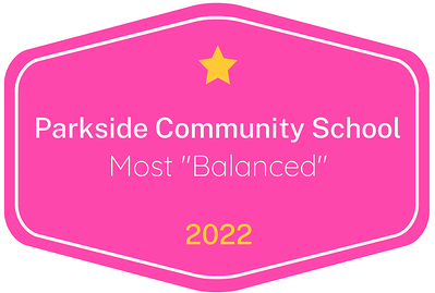 2022 Most 'Balanced' badge for Parkside Community School in Austin